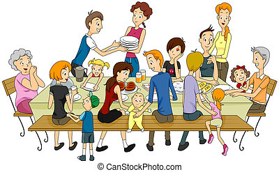 família, réunion