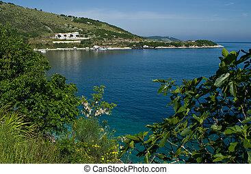Corfu - seaview - Corfu Island, Greece - seaview near...