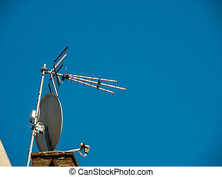 antenna for tv reception - antenna for television reception...