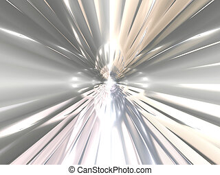 Abstract chrome background - Beautiful abstract brilliant...