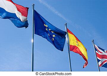 internacional, banderas
