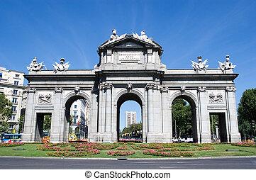 Puerta de Alcala in Madrid, Spain