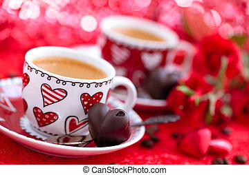 Coffee for Valentine's day.