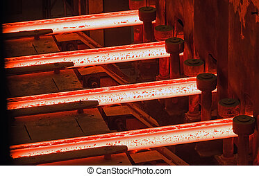 foundry - Iron and Steel Works. casting and steel rolling