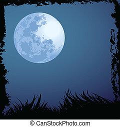 halloween night background - illustrations of halloween...