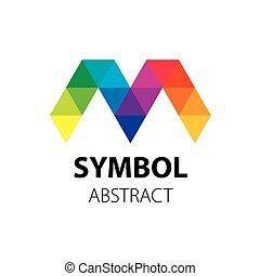 Abstract vector logo - pattern design abstract logo. Vector...