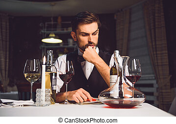 What kind of comment should I write - Attentive wine critic...