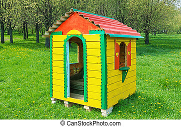 Yellow play house