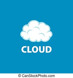 vector logo cloud