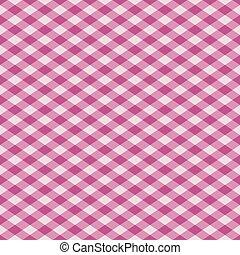 Gingham Pattern_Pink