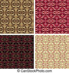 Modern Victorian Pattern_Warm
