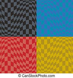 Op Art Pattern