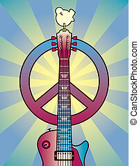 Tribute to Woodstock - A vector illustration celebrating the...