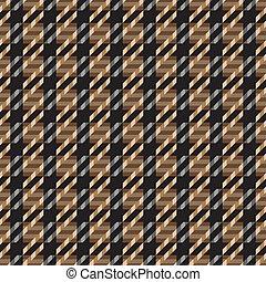 Tweed Texture_Brown - Seamless tweed texture pattern in...