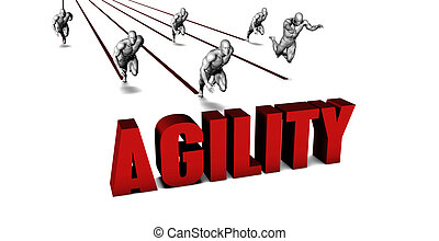 Better Agility with a Business Team Racing Concept