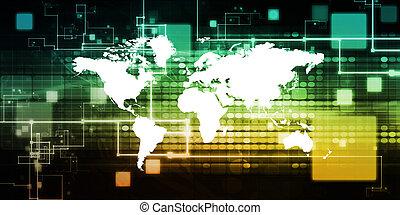 Globalization as an International Business Abstract Art