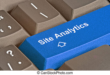 keyboard for site analytics