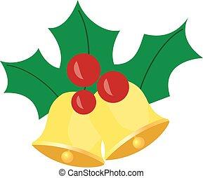 Christmas Bells - vector Christmas bells