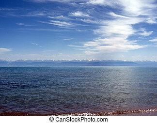 Lake in Kirghizistan