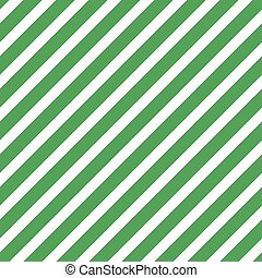 Green seamless tilted striped pattern packaging paper...