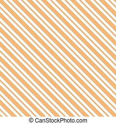 Orange seamless tilted striped pattern packaging paper...