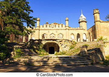 Kuris castle, an old manor near Odessa, village of Petrovka, Ukraine