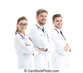 healthcare and medical - professional  team or group of doctors