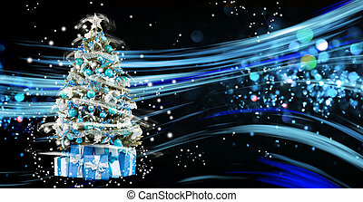 Christmas holiday blinking abstract background. hristmas...