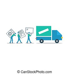Delivery company, truck transportation - Truck delivery,...