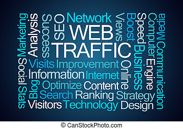 Web Traffic Word Cloud