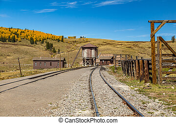 Osier Station - A view of Osier Station on a mountain...
