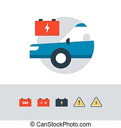 Auto car accumulator, replacement services, electrical...