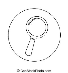 Search icon illustration design