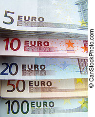 European Currency - Image of European Currency