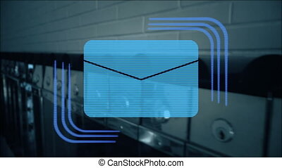 New message or mail motion graphics - New message or mail...