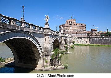 Castel Sant'Angelo Basilica - Castel Sant'Angelo. Old...