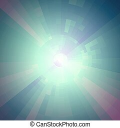 Virtual technology vector background.