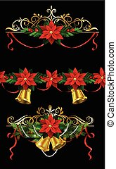 Christmas set elements for your designs