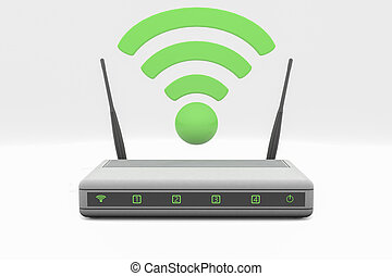Router - An internet wireless router