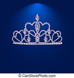 tiara with precious stones 1