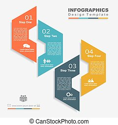 Design template with place for your data. Vector...