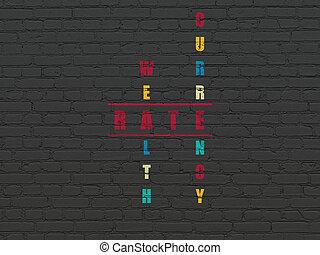クロスワードパズル, 困惑, レート,  concept:, 通貨