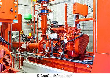 emergency diesel generator - burning diesel generator for a...