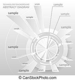 Abstract diagram design