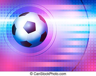 Soccer background - Blue and Pink Soccer background for...