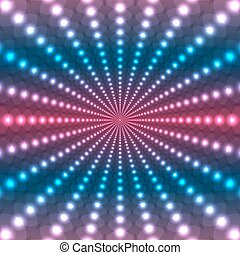 Abstract colorful background of colored lights. Abstract...