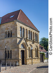 Side wing of the dom in Osnabruck, Germany