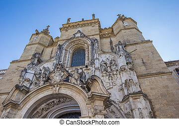 Igreja de Santa Cruz in Coimbra, Portugal