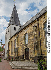 Reformed church in the center of Lingen, Germany