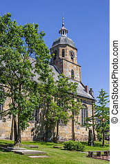 Reformed Protestant church of Bad Bentheim, Germany